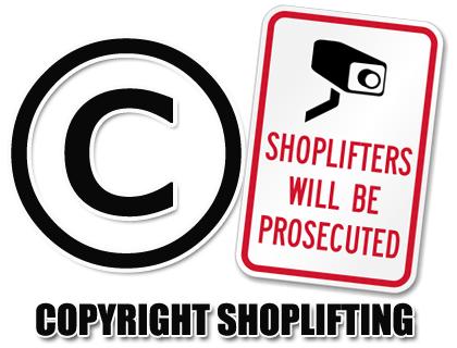Copyright Shoplifting